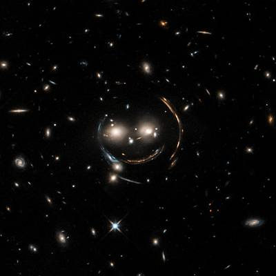 Cheshire Cat Galaxy Group Poster by Nasa/chandra X-ray Observatory Center