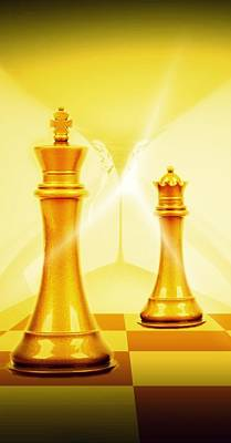 Chess Poster by Pierre Chamblin
