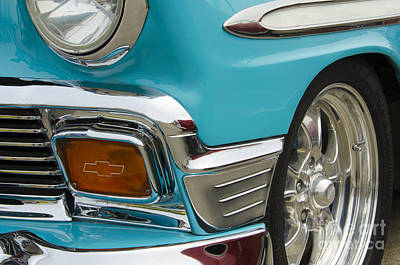 Chevrolet Beauty Of Design Poster by Bob Christopher