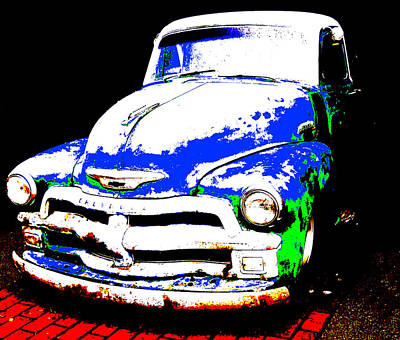 Chevy Art  Poster by Mark Moore