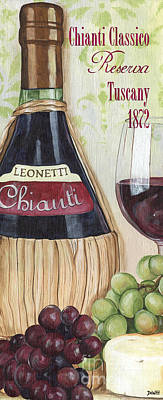 Chianti Classico Poster by Debbie DeWitt