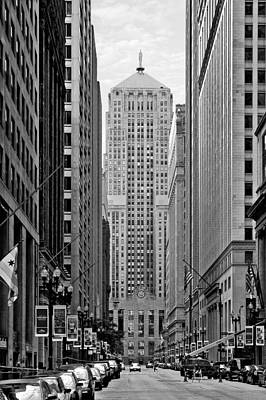 Chicago Board Of Trade Poster by Christine Till