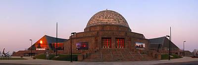 Chicago's Adler Planetarium Poster by Adam Romanowicz