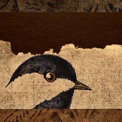 Chickadee Poster by Carol Leigh