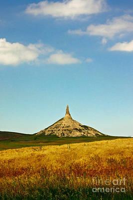Chimney Rock Nebraska Poster by Robert Frederick
