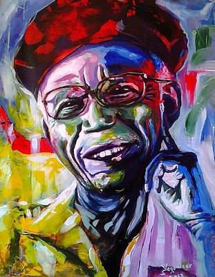 Chinua Achebe Poster by Evans Yegon