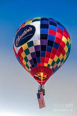 Chretin's Balloon Poster by Robert Bales