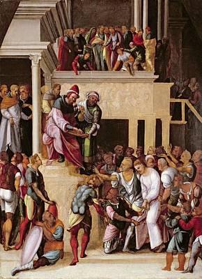 Christ Before Pilate, C.1530 Poster by Lodovico Mazzolino
