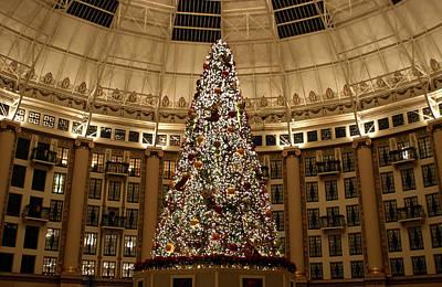 Christmas Tree Poster by Sandy Keeton