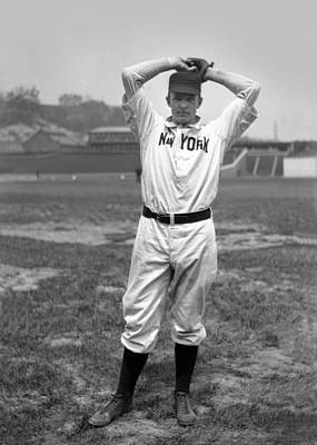 Christy Mathewson Wind Up Poster by Retro Images Archive