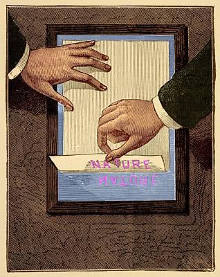 Chromograph Illustration Poster by David Parker