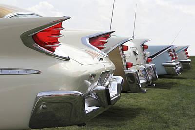 Chrysler Fins Poster by Mike McGlothlen