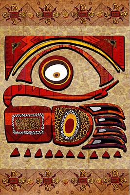 Chui Mtu African Folk Art Poster by Sharon and Renee Lozen