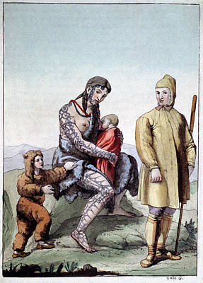 Chukchi Family Poster by Cci Archives