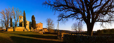 Church On A Hill, Santa Coloma Poster by Panoramic Images