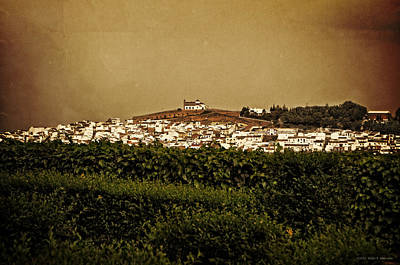 Church On The Hill - Andalusia Poster by Mary Machare