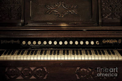 Church Organ Poster by Svetlana Sewell