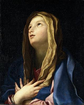 Cignani Carlo, The Virgin Mary , 17th Poster by Everett