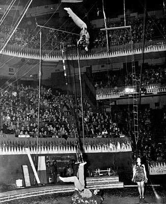 Circus Acrobats Poster by Retro Images Archive