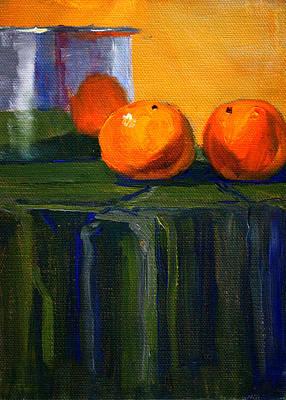 Citrus Chrome Poster by Nancy Merkle
