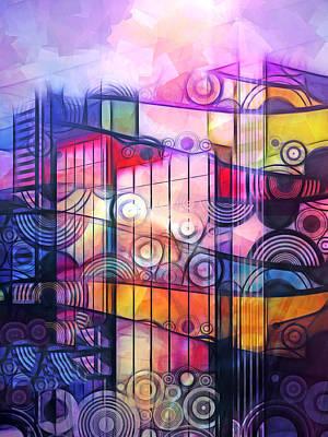City Patterns 4 Poster by Lutz Baar
