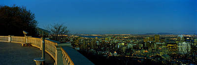 City Viewed From An Observation Point Poster by Panoramic Images