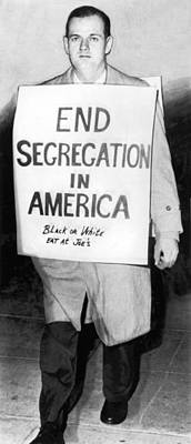 Civil Rights Activist Murdered Poster by Underwood Archives