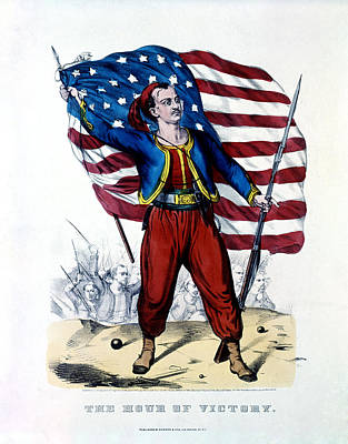 Civil War New York Zouave Poster by Historic Image