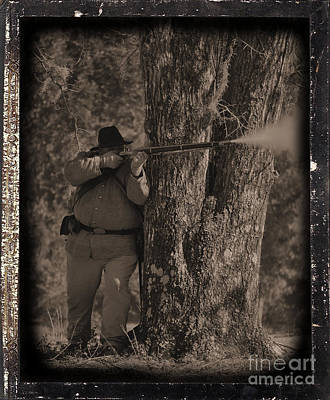 Civil War Re Enactment 4 Poster by Jocelyn Stephenson