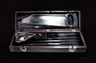 Civil War Surgical Kit Poster by Thomas Woolworth