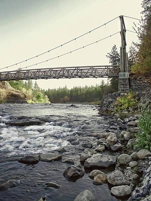 Civilian Conservation Corps Bridge - Spokane Washington Poster by Daniel Hagerman