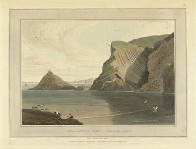 Clam-shell Cave On Staffa Poster by British Library