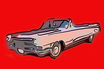 Classic Cadillac Car  Poster by Toppart Sweden