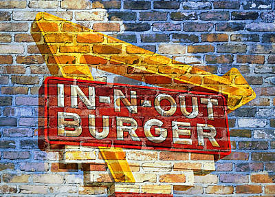 Classic Cali Burger 2.1 Poster by Stephen Stookey