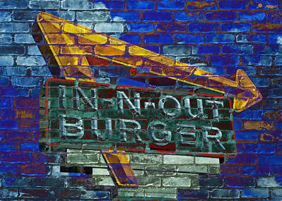 Classic Cali Burger 2.2 Poster by Stephen Stookey