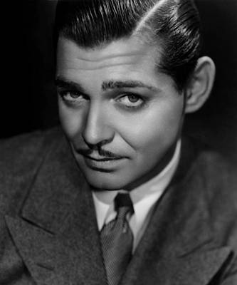 Classic Clark Gable Photo Poster by Georgia Fowler