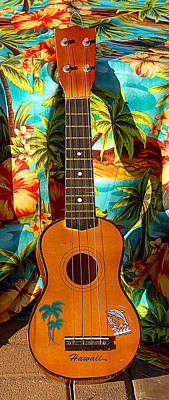 Classic Ukelele Poster by Ron Regalado