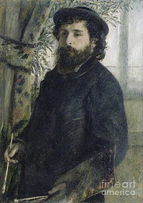 Claude Monet Self-portrait Poster by Claude Monet