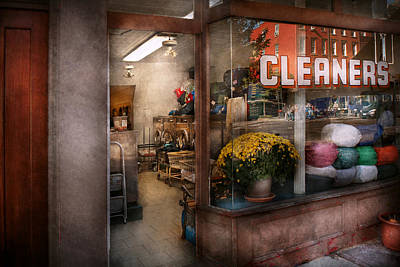 Cleaner - Ny - Chelsea - The Cleaners Poster by Mike Savad