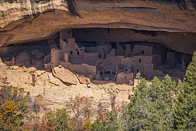 Cliff Dwelling Poster by Paul Freidlund
