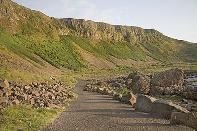 Cliffway Path -- Giant's Causeway -- Ireland Poster by Betsy C Knapp