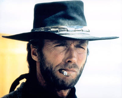 Clint Eastwood In High Plains Drifter  Poster by Silver Screen