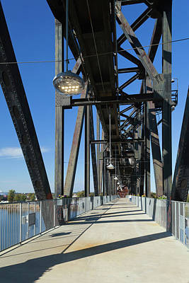 Clinton Presidential Park Bridge Poster by Panoramic Images