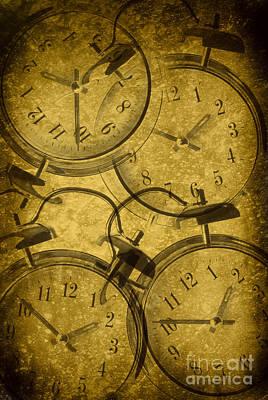 Clocks Poster by Amanda Elwell