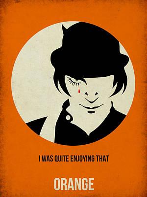 Clockwork Orange Poster Poster by Naxart Studio