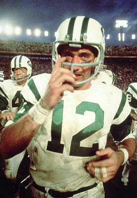Joe Namath  Poster by Retro Images Archive