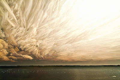 Cloud Chaos Poster by Matt Molloy