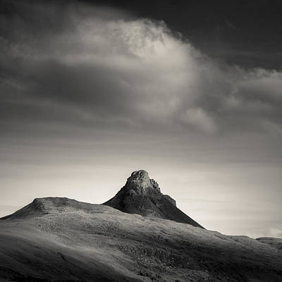 Clouds Over Stac Pollaidh Poster by Dave Bowman