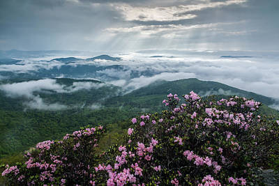 Cloud-scaped Layers Poster by Rob Travis