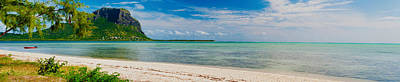 Clouds Over The Indian Ocean, Le Morne Poster by Panoramic Images